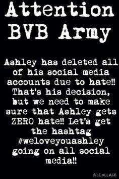 #WeLoveYouAshely !!!!