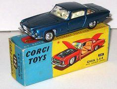 Corgi 241 - Ghia. I never had this one. A beautiful car!