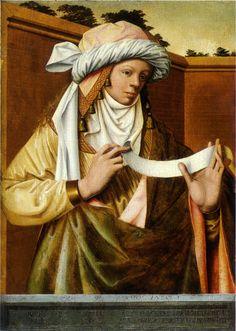 ❤ - Robert Campin (1375 - 1444) - Samian Sibyl (Ludger tom Ring the Elder after Robert Campin ) - Munster, Landesmuseum for Kunst and Kulturgeschichte