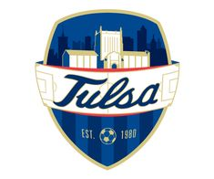 custom soccer logo design for tulsa university soccer by jordan fretz design Soccer Logo, Basketball Logo Design, Hockey Logos, Sports Team Logos, Basketball Teams, Football Team, Rb Logo, Construction Logo, Tulsa University