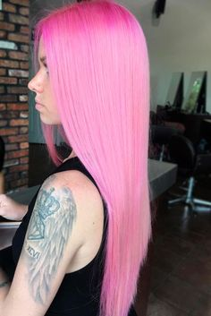 Sensational Pink Hair Ideas for a Spunky New Look ★ See more: http://lovehairstyles.com/pink-hair-ideas-look/