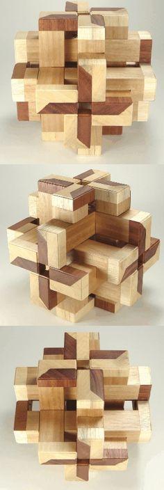 Die 32 besten Bilder von Holz Geduldsspiele / Wooden Puzzles