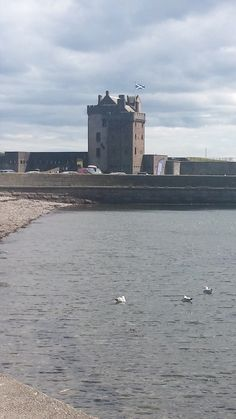 Broughty Castle, Broughty Ferry, Dundee, Scotland.