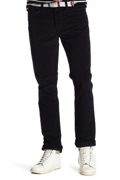 Joe's Jeans The Brixton Straight & Narrow Corduroy Pants In Midnight Brixton, Corduroy Pants, Joes Jeans, Workout Pants, Black Jeans, Nordstrom, Clothes, Collection, Shopping