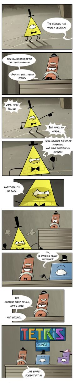 bill+cipher+comics | the origin of bill cipher by markmak fan art cartoons comics digital ...