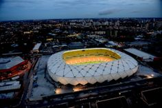 Arena Amazonia in Manaus - 42.374 seats Cost of the project: R$ 604 million (US$ 272,4 million)