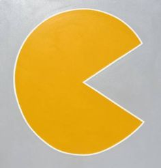 "smaller piece for conference room or elsewhere possibility. Saatchi Art Artist Christian Michael Gallegos; Painting, ""Pacman"" #art"