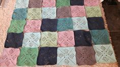 Good Pieces In Life: Victorian squares crochet
