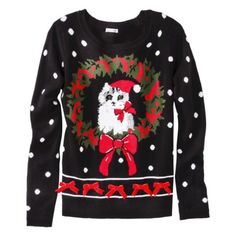 Again, med or lg. I love the idea of a big ol' christmas cat sweater. nbd. Target.