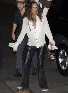 Steven Tyler was seen arriving at the Aerosmith concert after party at Pink taco's on Sunset Blvd in West Hollywood, CA. 8-6-2012