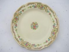 Mt. Clemens pottery Mount Clemens Mildred, 10 china salad plates