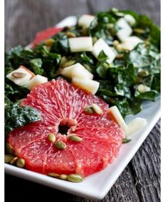 Citrus Salad #salad #recipe #fresh #gourmet #superfood #grapefruit