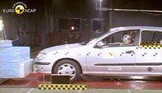 2001 Nissan Almera çarpışma testi