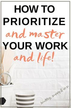 Learn the art of prioritizing what's most important in your schedules and in life, and you've gained a self-care tip that's priceless. Time management and productivity depends on this valuable skill. Personal Development Skills, Work Life Balance Tips, Time Management Skills, Productivity Management, Productivity Hacks, How To Stop Procrastinating, Prioritize, Life Lessons, Life Tips