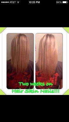 Grow long hair faster! Help hair loss prevent premature graying Biotin Keratin Hair Skin Nails www.facebook.com/tightenupwithtera