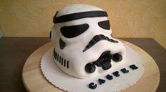 03 - Star Wars Sturmtruppler Torte - Stormtrooper Cake Fondant deutsches...
