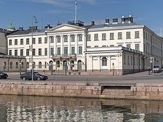 Presidential Palace, Helsinki, Finland.