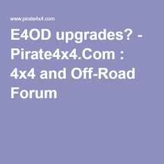 8 best used ford transmission images on pinterest automatic e4od upgrades pirate4x4 4x4 and off road forum fandeluxe Gallery