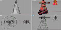 Ciutto 3D Study Fashion