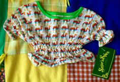 70s Crop Top 18/24 Months NOS by lishyloo on Etsy