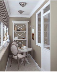 Balkon 30 Stunning Balcony Design Ideas And Remodel – Balkon ideen Interior Balcony, Apartment Balcony Decorating, Apartment Design, Home Interior Design, Apartment Ideas, Small Balcony Design, Small Balcony Decor, Trendy Home, Style At Home