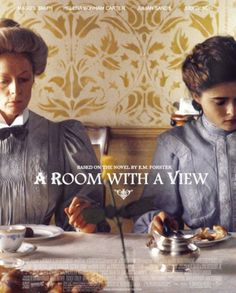 Maggie Smith & Helena Bonham Carter in A Room with a View • Directed by James Ivory 1985
