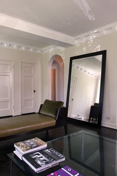 Love A Good Oversized Leaning Mirror Leaning Mirror, Huge Mirror, Oversized  Mirror, Living