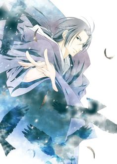 Uchiha Itachi- this is a beautiful piece! Don't know who it's by sadly.