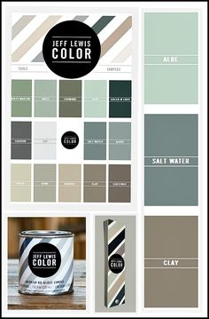 The Jeff Lewis paint collection that just came out from Dunn Edwards paints is fantastic!  The colors are so rich in depth but calm and beautiful.