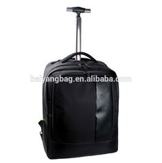 travel hiking trolley bag,polyester canvas leather school trolley backpack…  Backpack With Wheels,. Backpack With WheelsLuggage BagsTrolley ... 5649deebf2