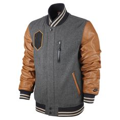 Dope! Nike Destroyer Letterman jacket from upcoming Black History Month collection