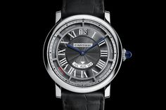 Introducing the Rotonde de Cartier Annual Calendar in 40mm, a new and smaller edition of Cartier Quantième Annuel watch, for a better wearability & elegance