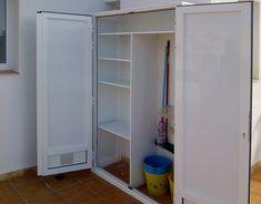 Aluminum Kitchen Cabinets, Aluminium Kitchen, Bike Storage, Locker Storage, Marquise, Terrazzo, Home Organization, Interior Design Living Room, Decoration