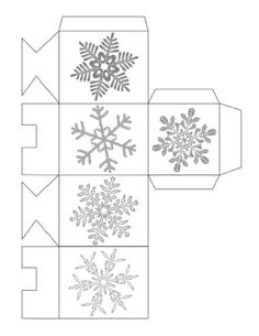 Dollar Store Crafts » Blog Archive » Printable Christmas Favor Box