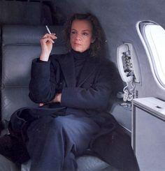~ Jil Sander by Annie Leibovitz, American Vogue March 1997 ~