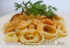 Spaghetti, Food And Drink, Vegan, Dishes, Ethnic Recipes, Mushrooms, Easy Meals, Tablewares, Vegans
