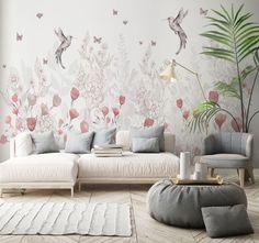 Interior Design Trends Our Predictions Marble Effect Wallpaper, Geometric Wallpaper, Interior Design Trends, Home Decor Trends, Interior Ideas, Decor Ideas, Hime Decor, Art Deco Home, Art Deco Furniture