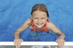 You can help your children feel happy in the water