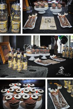 Dessert Table:  This entire blog has great party ideas!