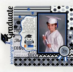 Layout: Have you seen the New Cap & Gown Collection from Doodlebug?
