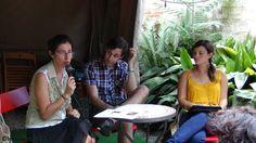 Iniciamos la sesión de LaJ dando las gracias a los asistentes por su presencia y presentando a Laia Vilaseca y Francesc Oliva