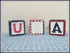Linda Walsh Originals Dolls and Crafts Blog: My How To Make Patriotic and 4th of July Primitive USA Cube Decorations Free E-Book