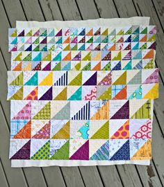 A Quilter's Table: No Scrap Left Behind