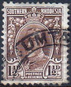 Southern Rhodesia 1931 SG 16d George V Head Fine Used SG 16d Scott 18 Other British Commonwealth Empire and Colonial stamps Here