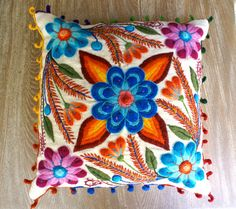 Hey, I found this really awesome Etsy listing at https://www.etsy.com/listing/272682266/pillow-cushion-covers-hand-embroidered