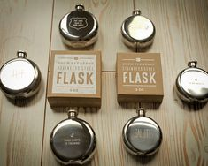 5 oz. Flask -   Fun, Groomsmen gift idea.