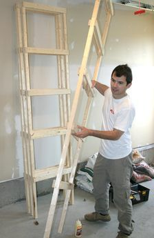 Building storage shelves – Top Of The World Basement Storage Shelves, Hanging Garage Shelves, Ikea Shelving Unit, Garage Storage Shelves, Garage Storage Solutions, Modern Shelving, Built In Storage, Storage Spaces, Woodworking