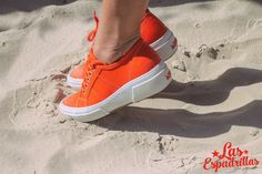 Orange shoes Las Espadrillas. This color is very shine and commercial. #fashion #moda #buy #shoes #footwear #style  #woman #sneakers #keds #converse #Обувь #стиль #journal #vans #palladium #look #like #bestoftheday #madeinukraine #hypebeast #sneakerfreaker #sneakernews #goodlook #кеды #стиль #мода #бренд #обувь #магазин #производство #дизайн