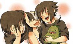 Love of brothers :3 Sasuke E Itachi, Neji E Tenten, Sarada Uchiha, Naruto Shippuden Anime, Narusasu, Sasunaru, Naruto Kid, Anime Naruto, Naruto Cute
