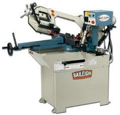 BS-250 or 260 Swivel-head horizontal bandsaw #machine #tool